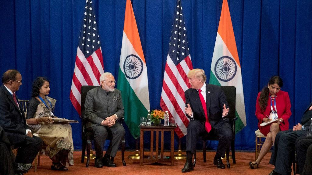 <p>On June 27, 2017, Prime Minister Narendra Modi met American President Donald Trump at the White House as part of his diplomatic visit to the United States. Modi visit to the US and the talks that were held there were an important page in the history of India-US relationship. The US President spoke highly of India and stated that India-US ties had never been stronger. The two world leaders sought to rise beyond bilateral ties and work jointly for the future of Asia and also to collectively fight the issue of terrorism plaguing both countries. After meeting Modi, Trump also said India has a true friend in the White House. Ivanka Trump's visit to the global entrepreneurship summit in India on PM Modi's invitation has further strengthened ties between the two countries. </p>