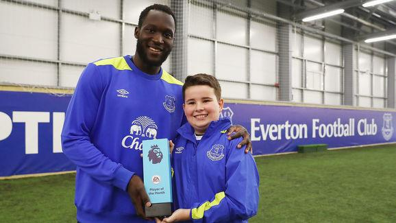 Romelu Lukaku Awarded with the EA SPORTS Player of the Month