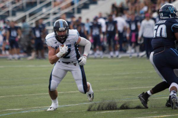 Former UMaine tight end earns spot on Redskins practice squad