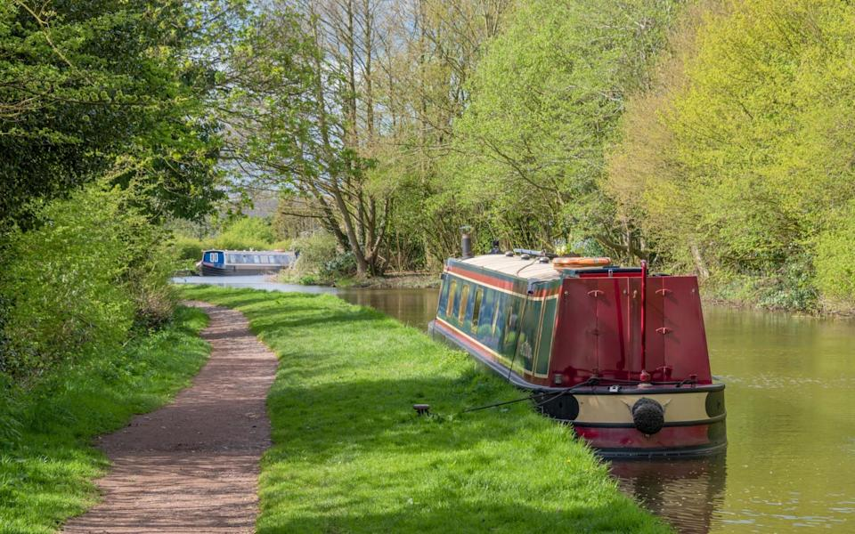 The United Kingdom's waterways open up parts of the country you may never have thought to explore - Getty