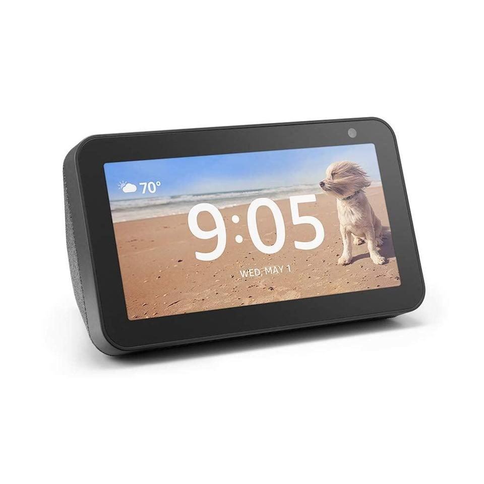 <p>Speaking of Alexa, no smart home is complete without an <span>Amazon Echo Show 5</span> ($85). You can make video calls, read recipes, or look up any questions you have, all through voice control.</p>