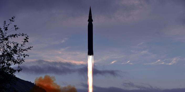 North Korea claimed that a missile test in late September involved a new hypersonic missile.