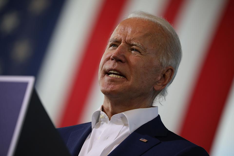 Presidential nominee Joe Biden said Barrett's confirmation should be a final appeal to Americans who haven't yet cast a ballot. (Photo: REUTERS)