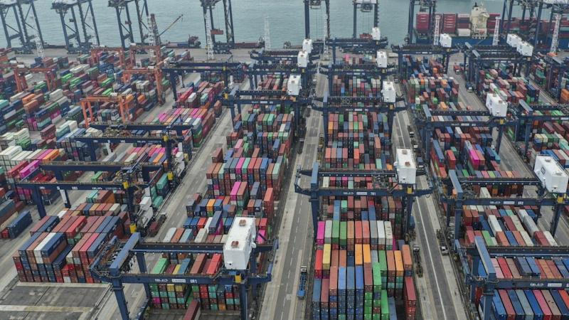 Hong Kong loses to another Chinese port city as container volume grows in busier northern rivals