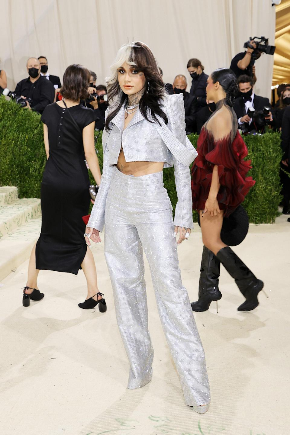 """<h1 class=""""title"""">Kehlani, The 2021 Met Gala Celebrating In America: A Lexicon Of Fashion - Arrivals</h1><cite class=""""credit"""">Getty</cite>"""