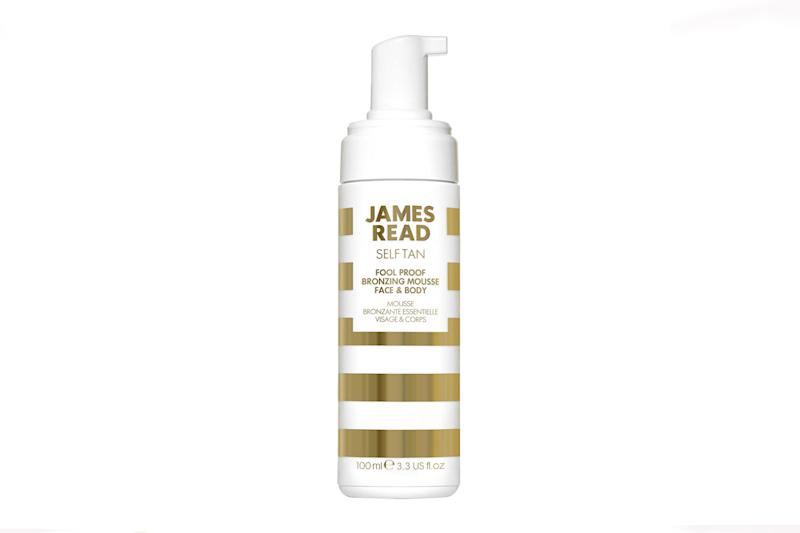 James Read Tan Fool Proof Bronzing Mousse (Photo: Courtesy of James Read)