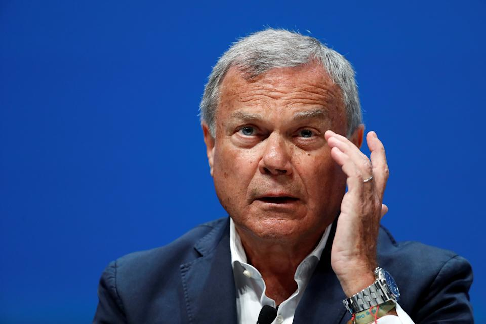 Sir Martin Sorrell attends a conference at the Cannes Lions International Festival of Creativity, in Cannes, France, June 22, 2018.  REUTERS/Eric Gaillard