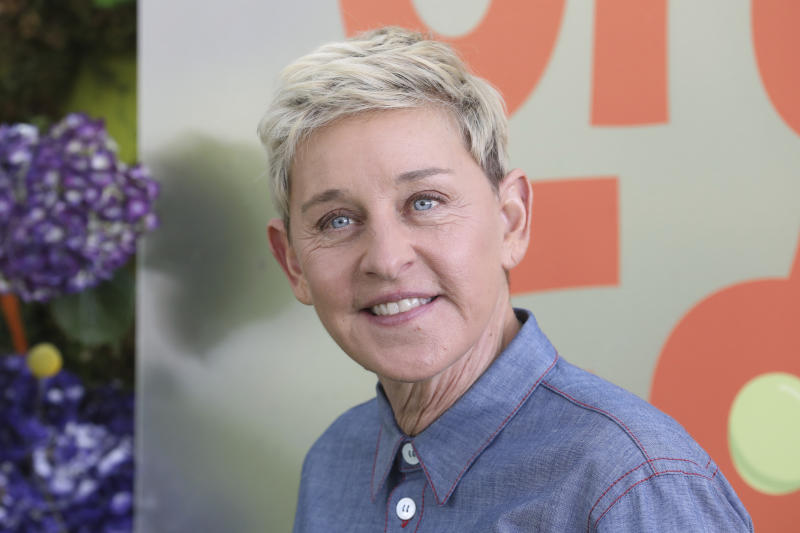 "Ellen DeGeneres attends the premiere of Netflix's ""Green Eggs and Ham"" at the Hollywood American Legion Post 43 on Sunday, November 3, 2019 in Los Angeles. (Photo by Mark Von Holden /Invision/AP)"