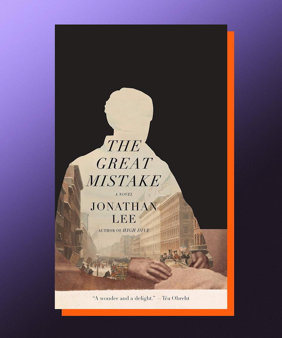"""<strong><em>The Great Mistake</em>, Jonathan Lee (<a href=""""https://bookshop.org/books/the-great-mistake-9780525658498/9780525658498"""" rel=""""nofollow noopener"""" target=""""_blank"""" data-ylk=""""slk:available June 15"""" class=""""link rapid-noclick-resp"""">available June 15</a>)</strong><br><br>There are those who would say that now is the perfect time for reading a great New York novel, and those who would say that <em>any</em> time is the perfect time for reading a great New York novel, and then there is me who simply has this to say: Read this, specific great New York novel now. In <em>The Great Mistake</em>, Jonathan Lee takes readers more than a century into the past, opening with the 1903 murder of prominent New Yorker, 83-year-old Andrew Haswell Green, who was a key figure in the establishment of everything from Central Park to the Metropolitan Museum of Art to the New York Public Library to — thanks to his push for the consolidation of all five boroughs — the city of New York itself. Such a towering life as Green's might not automatically imply the type of intimate, mesmerizing narrative that Lee has written, but it is one of the many remarkable feats of the book, which perfectly balances the ambition and grand scale of the city and its history, with the messy, glorious humanity that teems not beneath the surface, but all over the place, overflowing and impossible and beautiful in all its constructed chaos."""