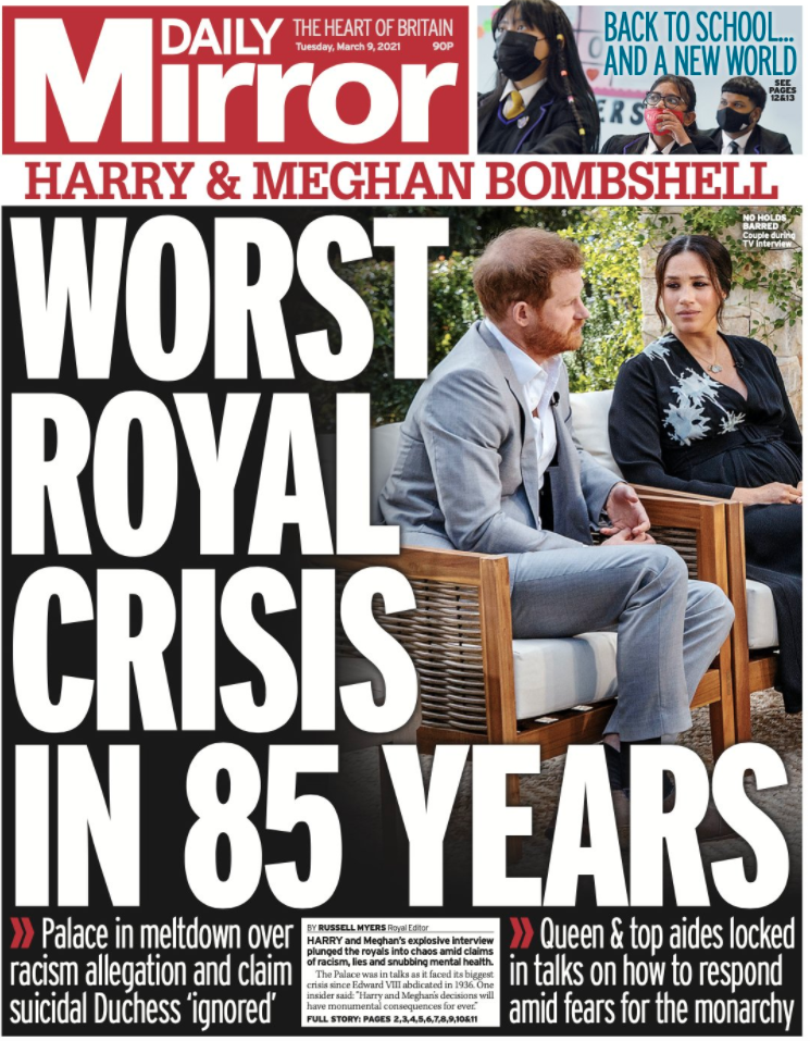 <p>Photo by The Daily Mirror</p>