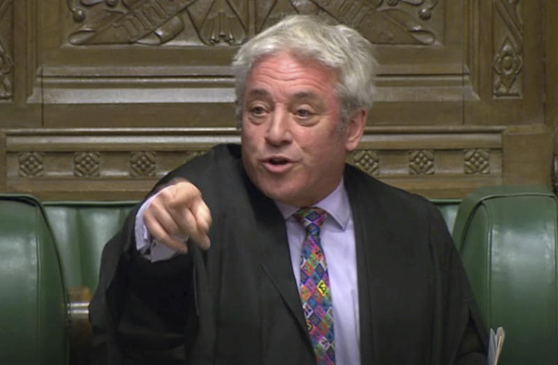 Speaker of the House of Commons John Bercow retires on October 31 (Picture: Getty)