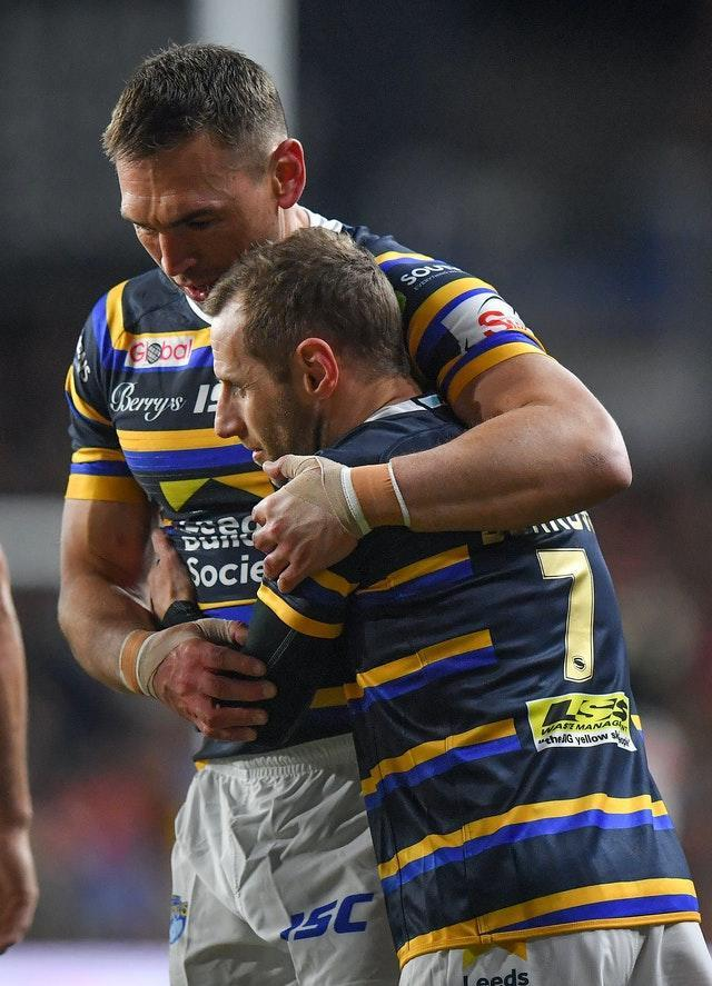 Kevin Sinfield and Rob Burrow remain close friends after a hugely successful partnership during their playing days at Leeds