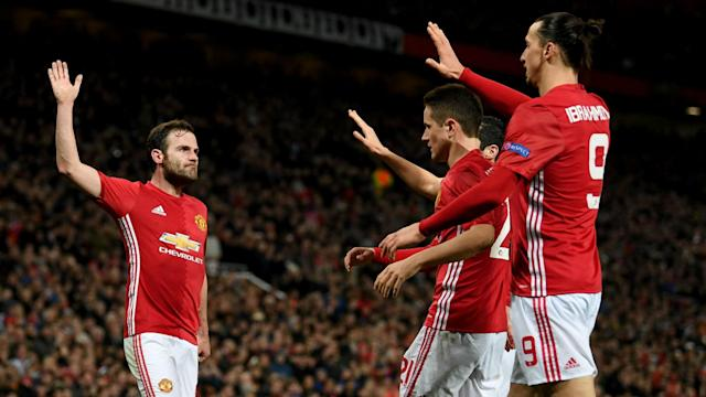 Juan Mata's goal was enough to edge Manchester United past Rostov in the Europa League and keep their chances of lifting the trophy alive.