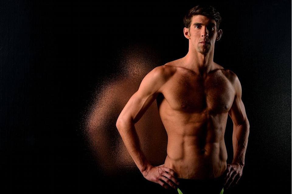 "<p>Michael Phelps showcased his swimmer's body ahead of the 2016 Olympics in Rio de Janeiro, Brazil. <a href=""https://www.menshealth.com/fitness/a32653655/michael-phelps-swimming-workout-diet-training-youtube-video/"" rel=""nofollow noopener"" target=""_blank"" data-ylk=""slk:While training"" class=""link rapid-noclick-resp"">While training</a>, Phelps spent time in the weight room, as well as the pool, lifting three days per week. </p>"