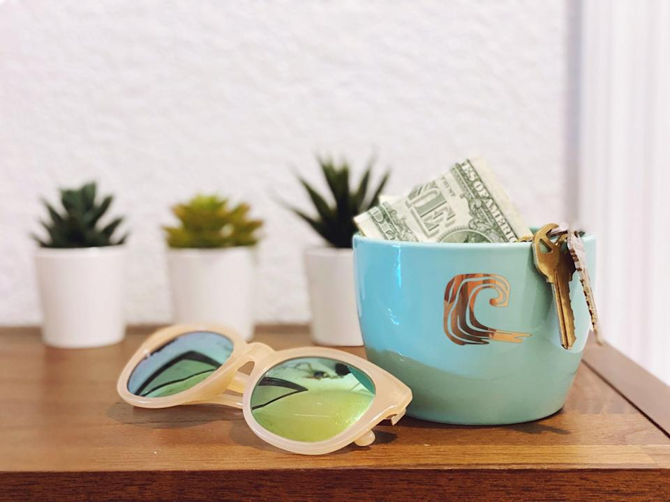 <p>I can use just one of the <span>Disney Princess X POPSUGAR Moana Planters</span> ($25 for three) off the stand as a catch-all on my entry table. It holds loose change, keys, and other small items I don't want cluttering up my table.</p>