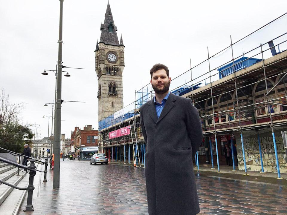 Nick Stringer wants local jobs for local peopleColin Drury
