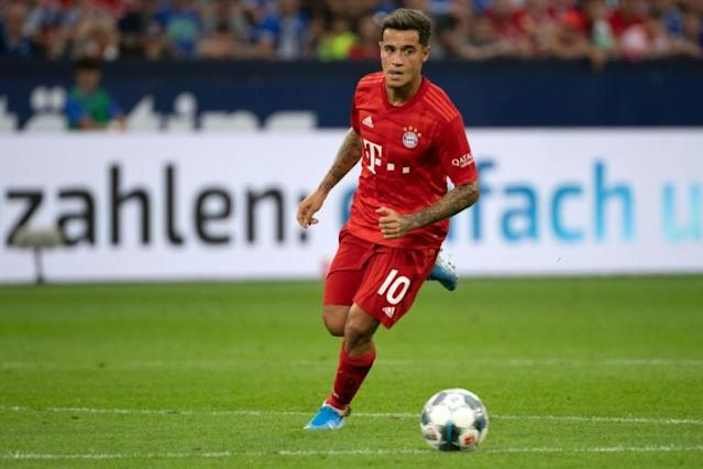 Big things are expected of Philippe Coutinho in his one-year loan spell at Bayern Munich (AFP Photo/Federico Gambarini)