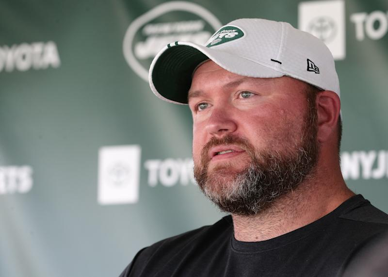 New York Jets GM Joe Douglas wasn't about to let his predecessor's mistake hurt his team. (Getty Images)