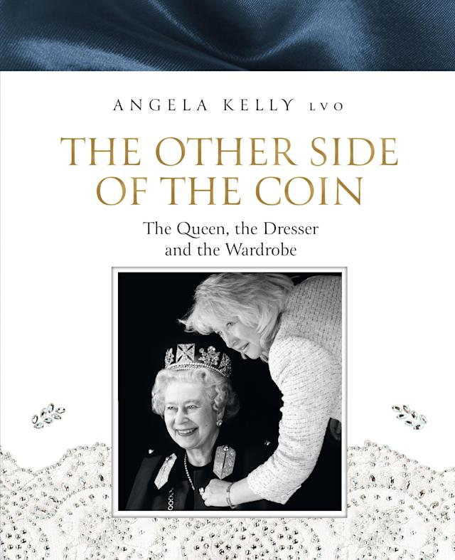 Cover des Buches 'The Other Side of the Coin' by Angela Kelly LVO (HarperNonFiction). (Bild: /HarperNonFiction/HarperCollins Publishers/dpa)