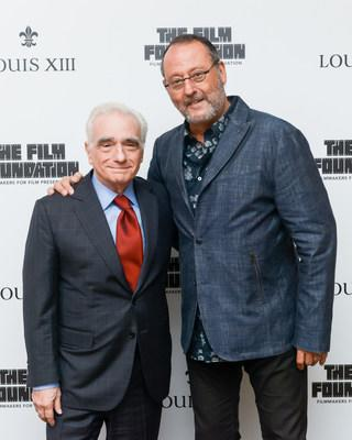 Martin Scorsese and Jean Reno at the release of