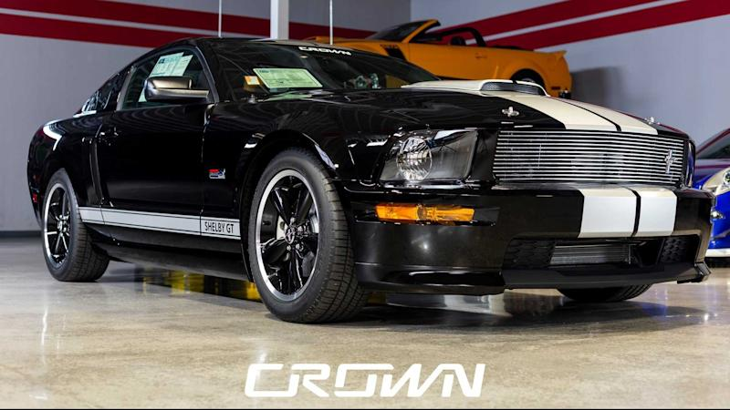 Bid On This 2007 Shelby GT With Just 30 Actual Miles