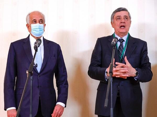 On the right: Special Presidential Representative for Afghanistan Zamir Kabulov (Photo Credit: Reuters)