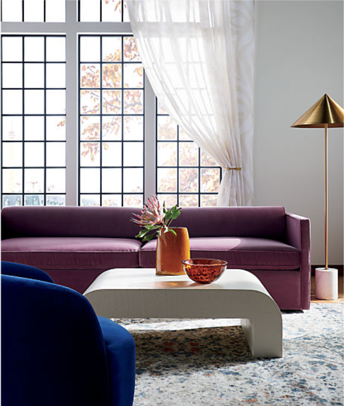 """<h3><strong>CB2</strong></h3> <br><br><strong>Best For: Sleek Accent Pieces<br></strong>Crate & Barrel's younger, sleeker sister, CB2 is a go-to for affordable accent pieces as well as more serious investments, like couches and tables. While those bigger pieces might not hit Ikea-level pricing, you can find some mid-range options that will be with you for years to come. Smaller goods, like pillows and occasional furniture, tend to be accessibly priced and come in a range of styles that can be a good way to update a space.<br><br><strong><em><a href=""""http://www.cb2.com/"""" rel=""""nofollow noopener"""" target=""""_blank"""" data-ylk=""""slk:Shop CB2"""" class=""""link rapid-noclick-resp"""">Shop CB2</a></em></strong><br><br><strong>CB2</strong> Horseshoe White Lacquered Linen Coffee Table, $, available at <a href=""""https://go.skimresources.com/?id=30283X879131&url=https%3A%2F%2Fwww.cb2.com%2Fhorseshoe-white-lacquered-linen-coffee-table%2Fs323561"""" rel=""""nofollow noopener"""" target=""""_blank"""" data-ylk=""""slk:CB2"""" class=""""link rapid-noclick-resp"""">CB2</a><br><br><br><br>"""