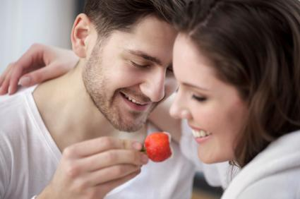 "<div class=""caption-credit""> Photo by: iStock</div><div class=""caption-title"">Are you satisfied with your sex life?</div>Ah, yes. Counterbalancing expectation with reality. Only 1/4 of respondents were truly disappointed with the intimacy in their relationship. Most, 37%, were happy with how things play out, while 35% admit it is okay but needs improvement."