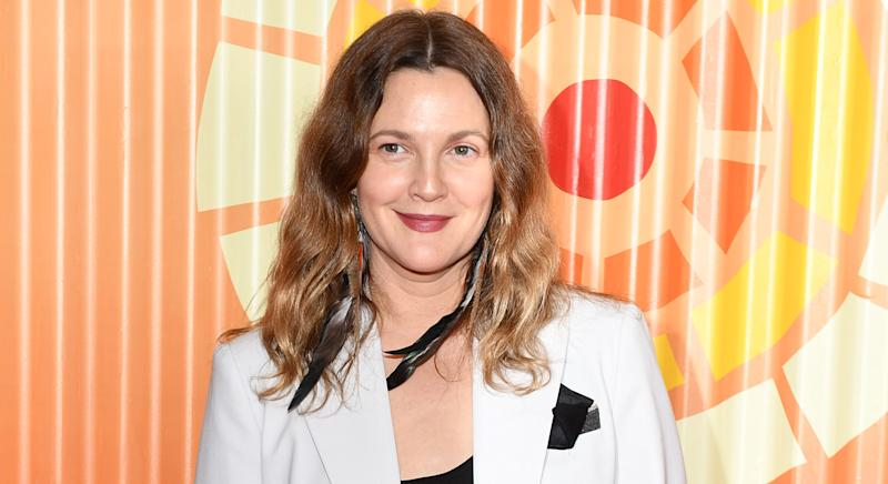 "Drew Barrymore is ""obsessed"" with Olay Daily Facial Cloths - and they're under £5. (Getty Images)"
