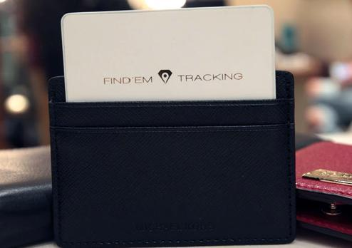 Find'Em tracking Bluetooth tracker
