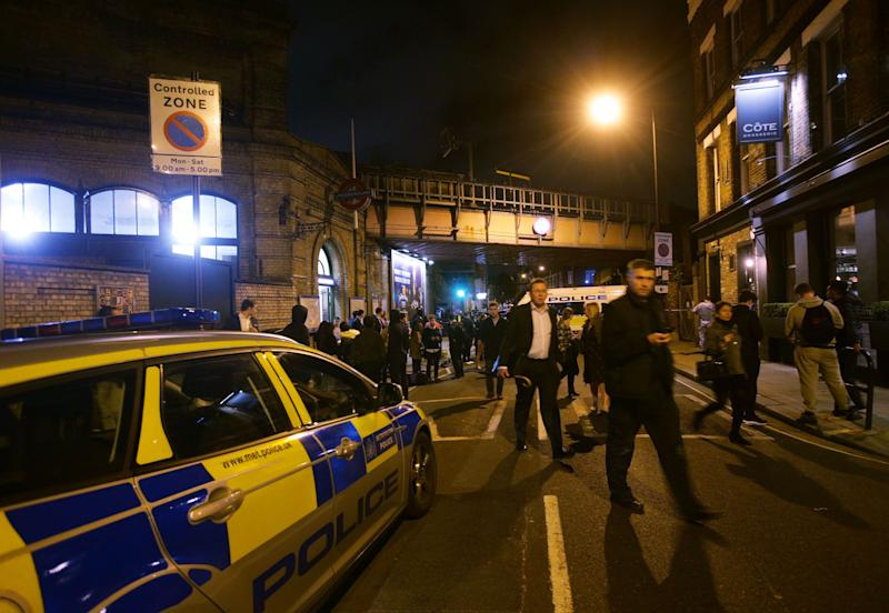 One dead, two injured in knife attack outside London Tube station