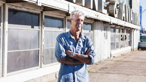 PHOTO: Anthony Bourdain on Pier 57 in New York, Sept. 20, 2015. (Alex Welsh/The New York Times via Redux,FILE)