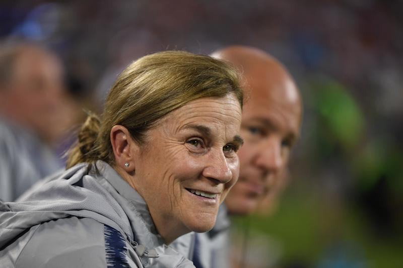 Vlatko Andonovski takes over for Jill Ellis, who wasn't overly popular with the most tenured players but won back-to-back Women's World Cups. (Getty)