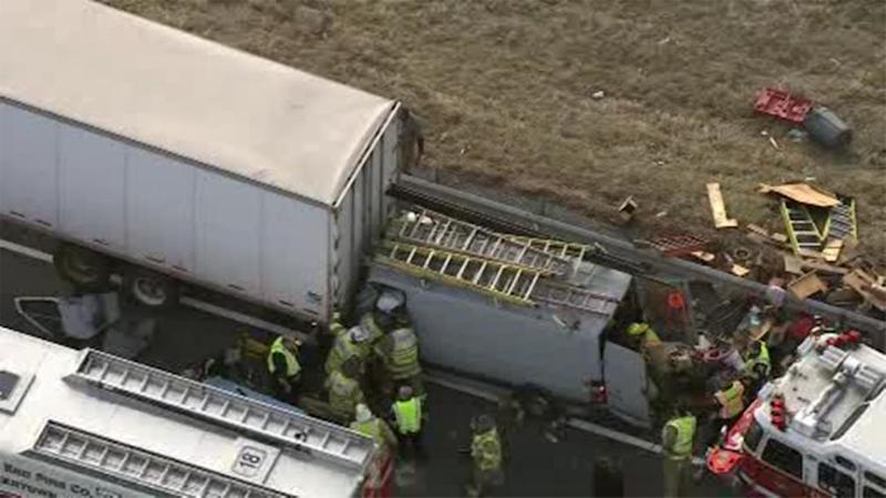 Pa  Turnpike Northeast Extension closed after crash