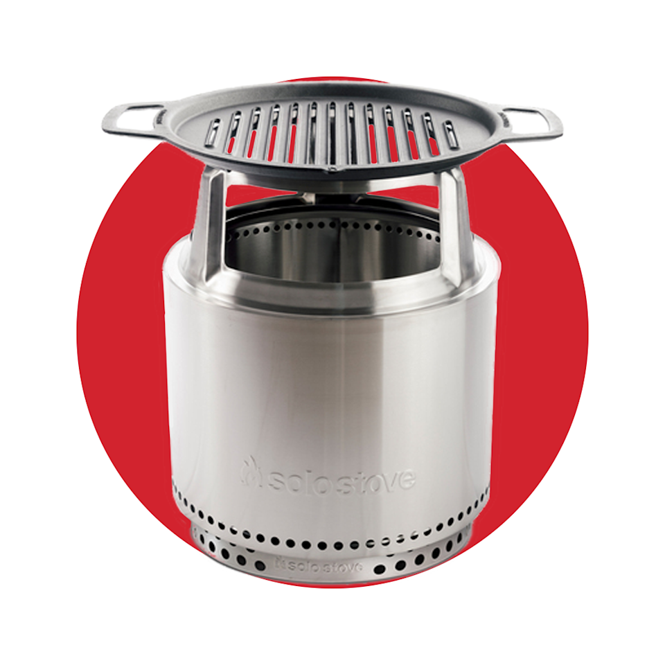 """<p>solostove.com</p><p><strong>$179.99</strong></p><p><a href=""""https://go.redirectingat.com?id=74968X1596630&url=https%3A%2F%2Fwww.solostove.com%2Fbonfire-grill-accessory-bundle&sref=https%3A%2F%2Fwww.menshealth.com%2Ftechnology-gear%2Fg36954813%2Fmens-health-outdoor-awards-2021%2F"""" rel=""""nofollow noopener"""" target=""""_blank"""" data-ylk=""""slk:BUY IT HERE"""" class=""""link rapid-noclick-resp"""">BUY IT HERE</a></p><p>There's a reason the Solo Stove's <a href=""""https://www.menshealth.com/technology-gear/a36611903/solo-stove-bonfire-sale/"""" rel=""""nofollow noopener"""" target=""""_blank"""" data-ylk=""""slk:Bonfire"""" class=""""link rapid-noclick-resp"""">Bonfire</a> portable fire pit has become so popular. And now, the brand has upped the ante with a brand new grill accessory, which will sit right above your flames to give your food a classic woodfire smoke and char.</p>"""