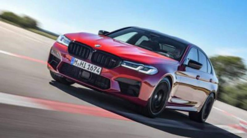 2021 BMW M5 (facelift) spied ahead of launch in India