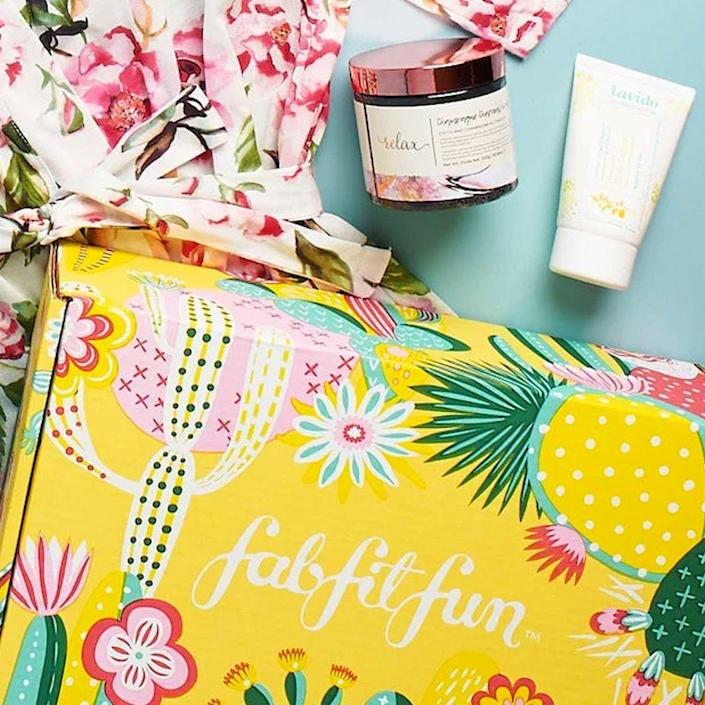 """<p><strong>fabfitfun</strong></p><p>fabfitfun.com</p><p><a href=""""https://go.redirectingat.com?id=74968X1596630&url=https%3A%2F%2Ffabfitfun.com%2Fget-the-box%2F%3Fstep%3Dgetbox%26origin%3Dwelcome%23plan%3Dfffvip&sref=https%3A%2F%2Fwww.goodhousekeeping.com%2Fholidays%2Fgift-ideas%2Fg4352%2Fhigh-school-graduation-gifts%2F"""" rel=""""nofollow noopener"""" target=""""_blank"""" data-ylk=""""slk:Shop Now"""" class=""""link rapid-noclick-resp"""">Shop Now</a></p><p>The best gifts are the ones that continue to give all year long. This quarterly subscription box will arrive at her door at the start of every season with trendy beauty, fashion, fitness and wellness products at a fraction of the price. </p><p><strong>RELATED:</strong> <a href=""""https://www.goodhousekeeping.com/beauty/g5005/makeup-subscription-boxes/"""" rel=""""nofollow noopener"""" target=""""_blank"""" data-ylk=""""slk:Makeup Subscription Boxes to Sign Up for This Minute"""" class=""""link rapid-noclick-resp"""">Makeup Subscription Boxes to Sign Up for This Minute</a></p>"""