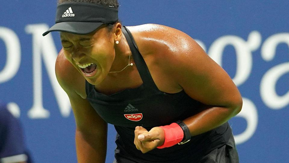 Winning! Naomi Osaka is set to sign one of the biggest endorsement deals in tennis history. Pic: Getty