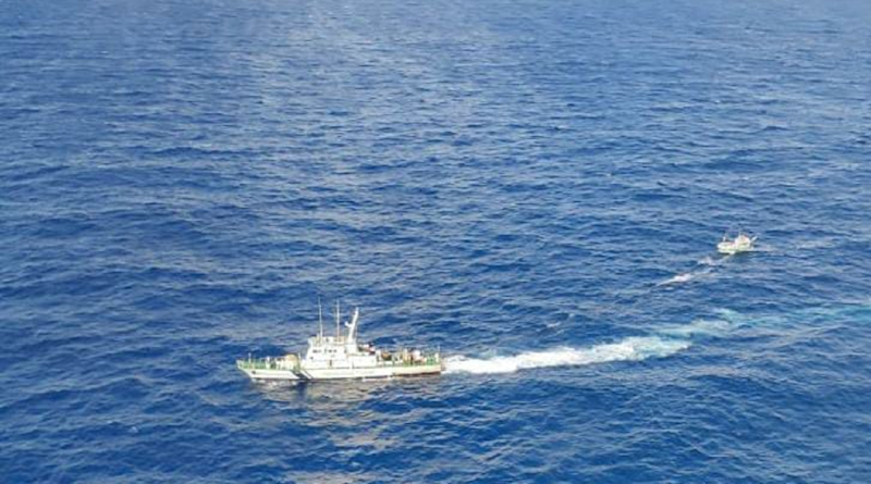 Indian Coast Guard Ship Rescues 6 Sri Lankan Fishermen Again, Second Time This Month