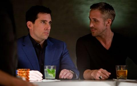 Steve Carrell and Ryan Gosling in Crazy Stupid Love - Credit: Film Stills