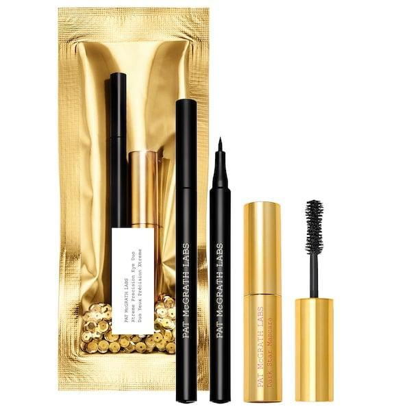 """<p>This <span>Pat McGrath Labs Xtreme Precision Eyeliner and Mascara Duo</span> ($25) doesn't even need to be wrapped (because why hide the bold eyeliner and <a href=""""https://www.popsugar.com/beauty/pat-mcgrath-labs-dark-star-mascara-review-47616359"""" class=""""link rapid-noclick-resp"""" rel=""""nofollow noopener"""" target=""""_blank"""" data-ylk=""""slk:editor-approved mascara"""">editor-approved mascara</a> for more than a minute longer than necessary?!).</p>"""