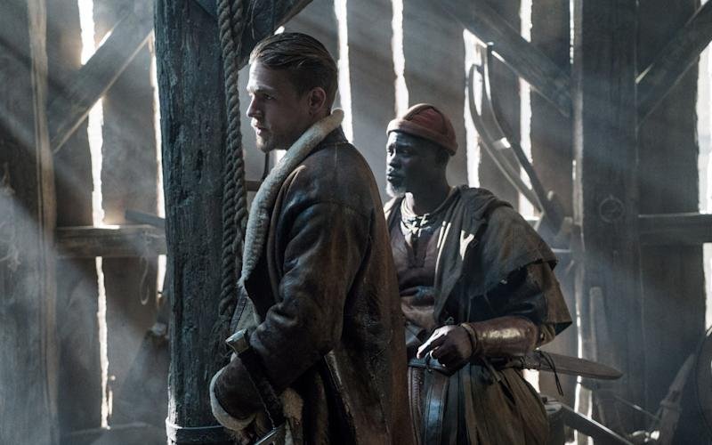 The Arthurian legend got its big boost from the 12th-century historian Geoffrey of Monmouth - Credit: Daniel Smith/Warner Bros