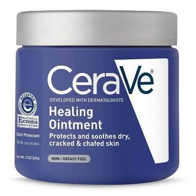 <p>A tiny dab of the <span>CeraVe Healing Ointment for Dry and Chafed Skin, Non-Greasy Feel</span> ($20) on your face after your nighttime routine will heal dry skin overnight. </p>