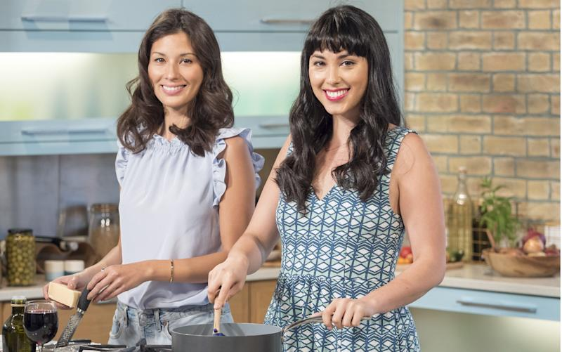 Jasmine and Melissa Hemsley have championed gluten-free food - Copyright (c) 2015 Rex Features. No use without permission.