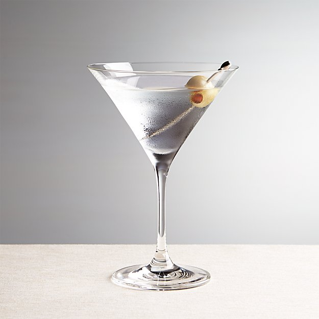 "Because they're hosting the group's next martinis and fries night. <br><br><strong>Crate and Barrel</strong> Viv Martini Glass, $, available at <a href=""https://go.skimresources.com/?id=30283X879131&url=https%3A%2F%2Fwww.crateandbarrel.com%2Fviv-martini-glass%2Fs240745"" rel=""nofollow noopener"" target=""_blank"" data-ylk=""slk:Crate and Barrel"" class=""link rapid-noclick-resp"">Crate and Barrel</a>"