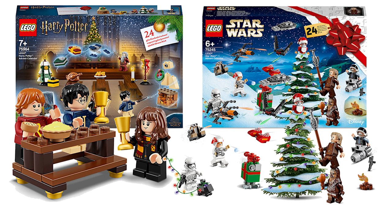 Calendrier Star Wars 2019.Lego Launches 25 Harry Potter And Star Wars Advent Calendars