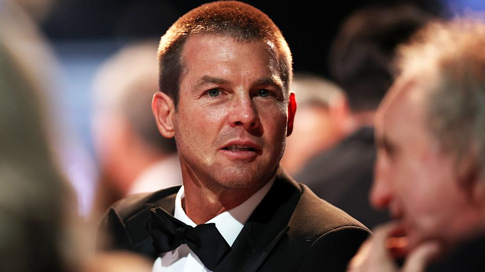Ben Cousins, pictured here during the 2021 AFL Brownlow Medal.