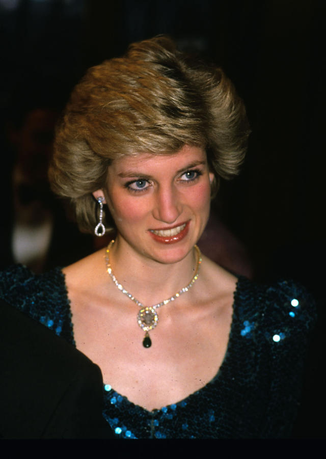 "<p>The queen mother reportedly gave Princess Diana an emerald necklace as a wedding gift when she married Prince Charles in 1981. And the piece of jewelery is steeped in history, as it originally belonged to Princess Alexandra of Denmark. However, Camilla Parker-Bowles was spotted wearing the necklace as a brooch in October 2006 for a premiere of Alan Bennett's ""The History Boys,"" which caused controversy. (Photo: PA) </p>"