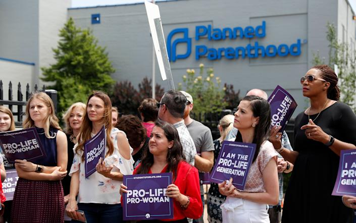 Planned Parenthood has left the federal Title X program because of new restrictions on discussing abortion with patients, implemented by President Donald Trump's administration. (Photo: ASSOCIATED PRESS)