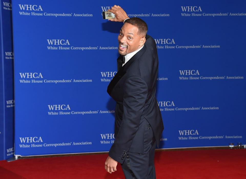 <p>Actor Will Smith attends the 102nd White House Correspondents' Dinner, April 30. <i>(Photo: Larry Busacca/Getty Images)</i></p>
